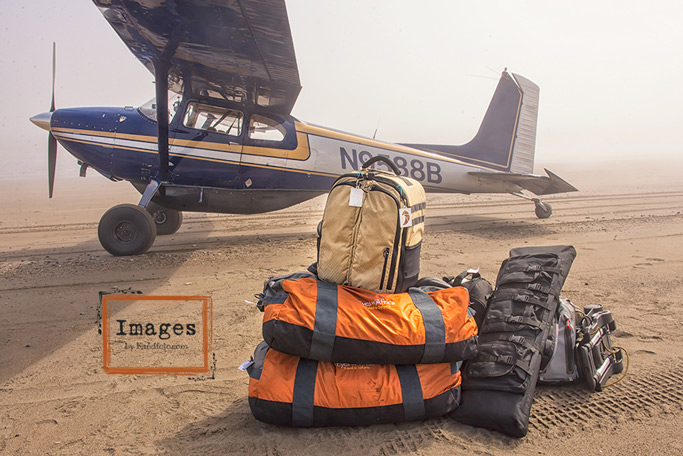 luggage for Wild Alaska - photography and fishing gear