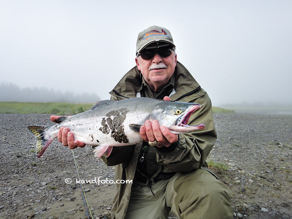 Silver Salmon caught by Jim Heimer
